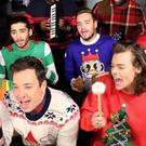 One Direction sang a festive tune with Jimmy Fallon (Jimmy Fallon/Instagram)