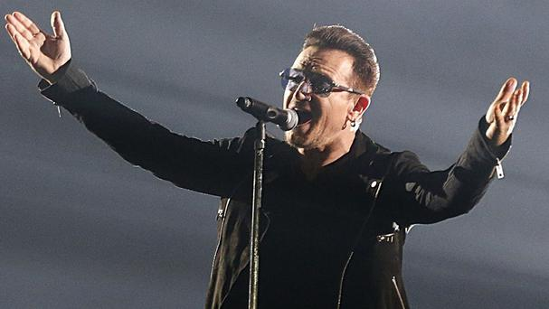 Bono needed extensive surgery after his bike crash