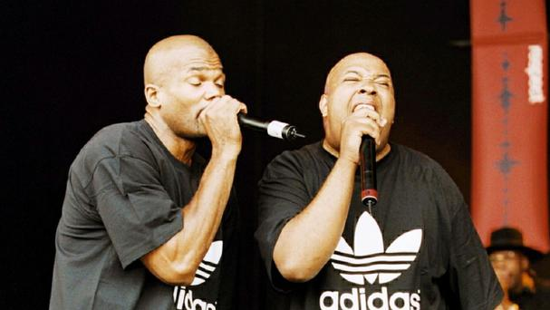 Run DMC members Darryl McDaniels and Joseph Simmons are playing their first UK show in 12 years