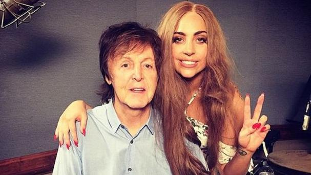 Lady Gaga and Sir Paul McCartney are working on a secret musical project (Lady Gaga/Instagram)