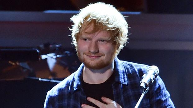 Ed Sheeran's Thinking Out Loud has been voted The World's Greatest Love Song in a new poll