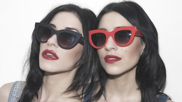 The Veronicas have been talking about working with big name stars on their new album