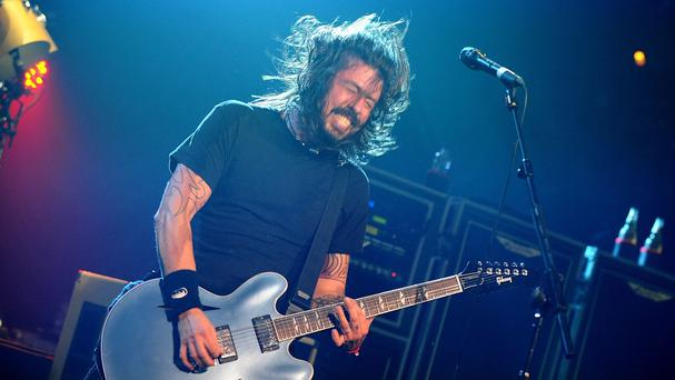 Dave Grohl of Foo Fighters who have revealed they are playing Glastonbury this year.