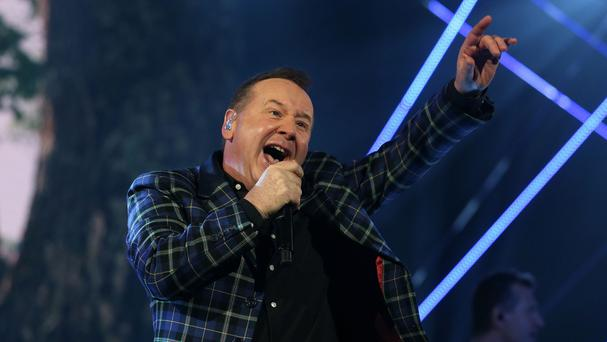 Jim Kerr has given his public backing to the plan to move T in the Park to Strathallan Castle