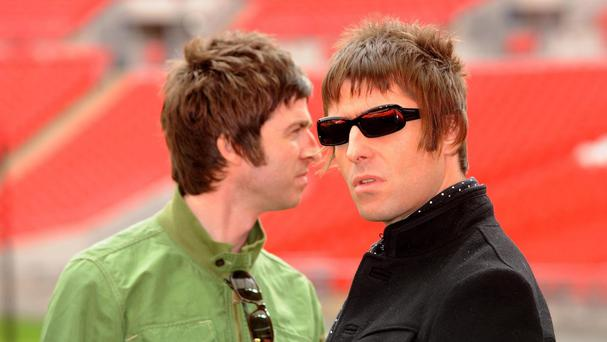 Noel Gallagher (left) says he has not had a serious offer to reunite with brother Liam for an Oasis comeback