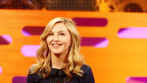 Madonna would like to try her hand at