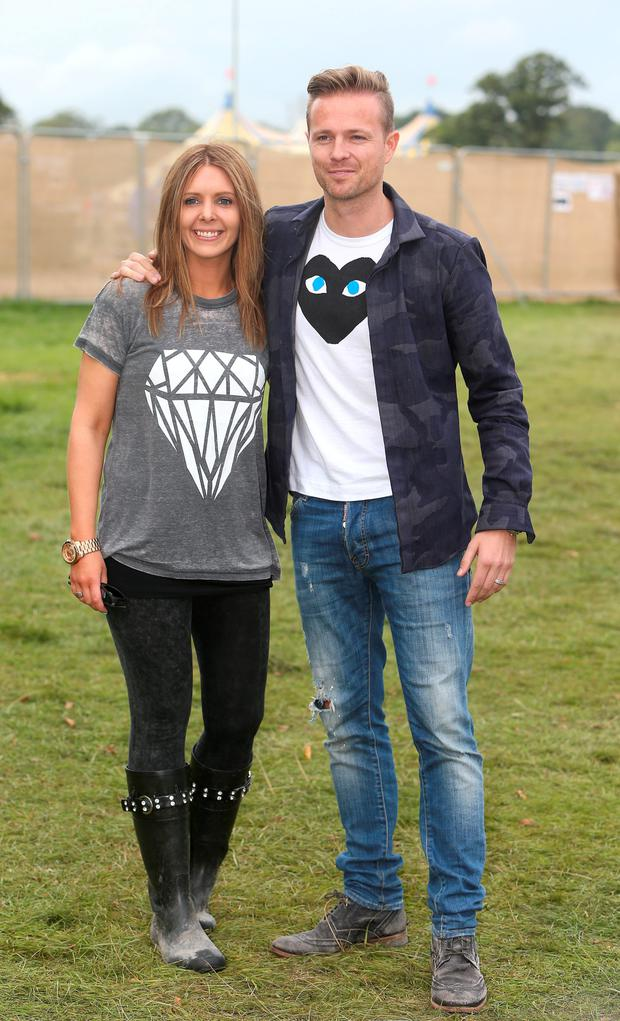 Jenny Greene and NIcky Byrne