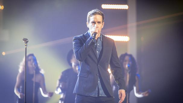 Stevie McCrorie won the final of The Voice and said it felt like a dream (BBC/PA)