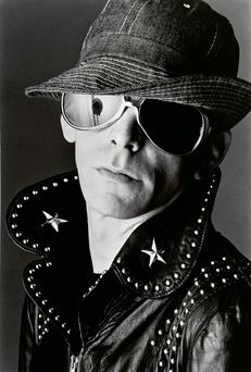Lou Reed was inducted into the Rock and Roll Hall of Fame