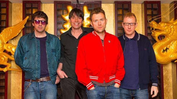 Blur announced their surprise album in February