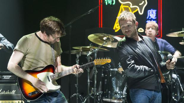 Blur have stormed to the top of the album charts
