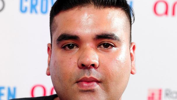 Naughty Boy also got involved in the spat
