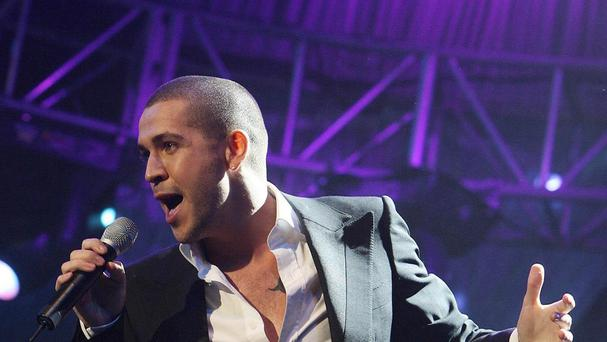 Shayne Ward's jibe about Manchester angered some Twitter users