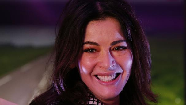 Nigella Lawson had to remind fans that she was not actually judging the contest