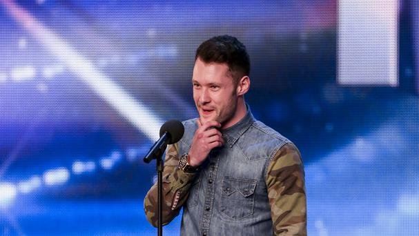 Calum Scott will sing in the final of Britain's Got Talent (SYCO/THAMES TV/ITV/PA Wire)