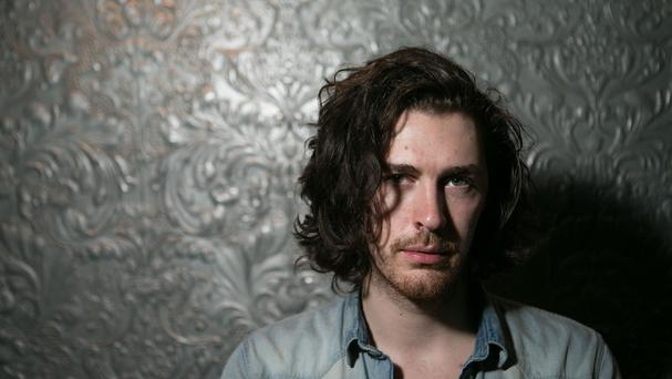 Hozier is top of the list of songs