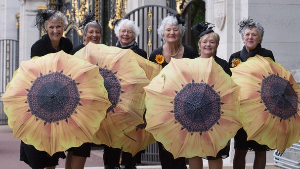 The original Calendar Girls sparked a craze for nude fundraising