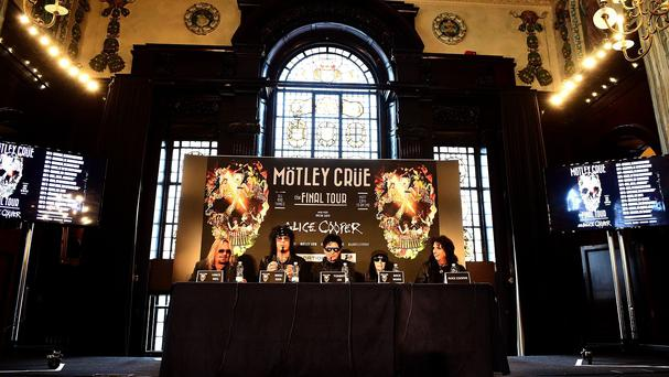 Motley Crue have made a