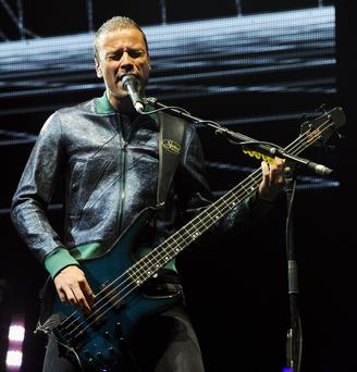 Muse songwriter and bass player Christopher Wolstenholme