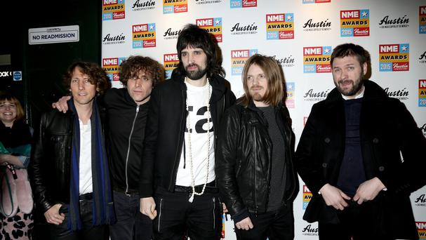 Kasabian lifted the best band honour