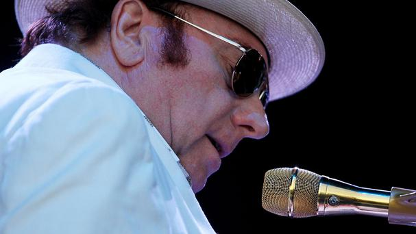 Van Morrison's career has taken him to the world's biggest arenas