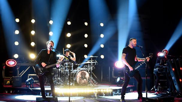 Muse have stormed to the top of the album charts