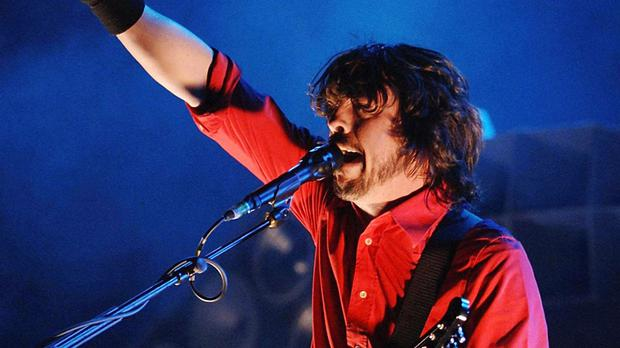 Dave Grohl broke his leg in a fall while performing in Sweden last weekend