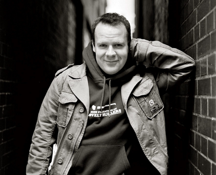 Comedian: Neil Delamere gives it his Sunday best