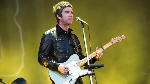 Noel Gallagher's releases Riverman, Ballad Of The Mighty and The Dying Of The Light take the top three places in the vinyl singles chart