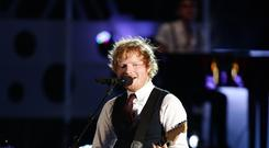 Ed Sheeran is performing three gigs at Wembley Stadium