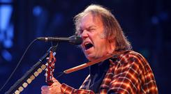 Neil Young has removed his music from streaming services because he is unhappy about the sound quality