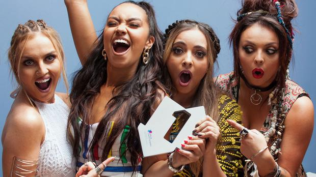 Little Mix stir up charts with number one Black Magic
