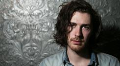Hozier achieved mainstream international success last year with his single Take Me To Church