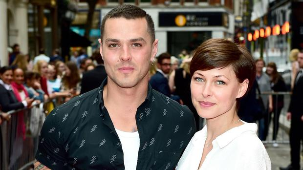 Matt and Emma Willis at the press night of musical American Idiot in London