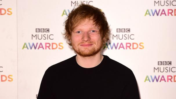 Ed Sheeran was the most streamed act with more than 170 million streams