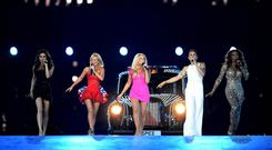 The Spice Girls last reunited for the closing ceremony of the London 2012 Olympic Games