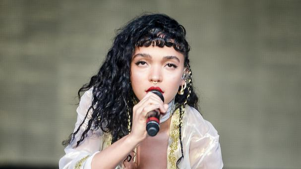FKA twigs is said to be in a relationship with actor Robert Pattinson