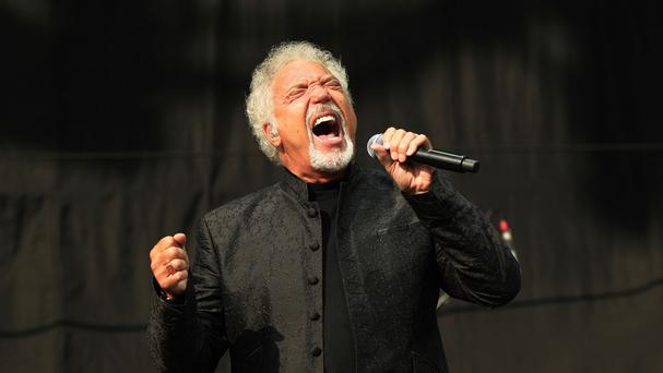 Fans of Sir Tom Jones were disappointed when a technical glitch curtailed his show
