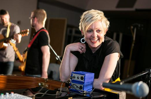 EMOTIONAL TRUTHS: Carol Keogh at the Windmill Lane Sessions. Photo: Kyran O'Brienthe