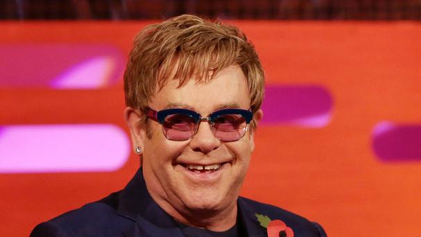Sir Elton John thanked Dolce and Gabanna for their apology over comments made about IVF children