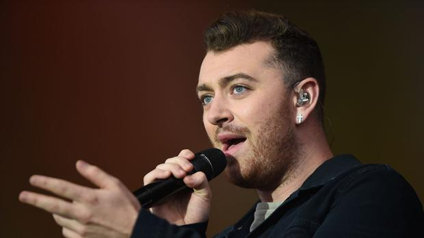 Sam Smith recently performed at the V Festival