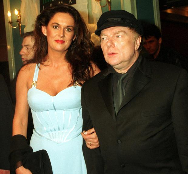 Van Morrison and his wife Michelle