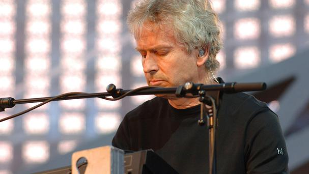 Tony Banks of Genesis was honoured at the awards