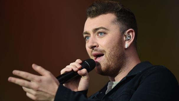Sam Smith has picked up an award at the GQ Men of the Year awards