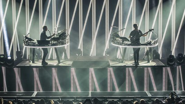 Disclosure perform at the Apple Music Festival