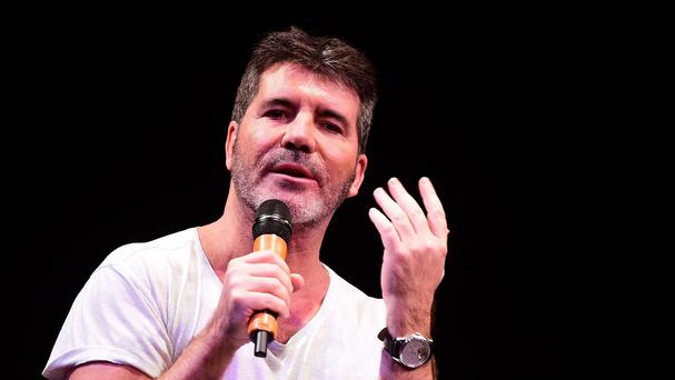 Simon Cowell speaks at The Brit School and the Nordoff Robbins facility onsite in London, ahead of being honoured at the Music Industry Trusts Award (MITS).