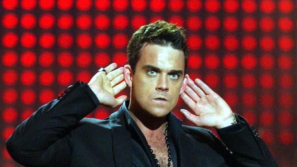Robbie Williams has given his support to the new streaming service