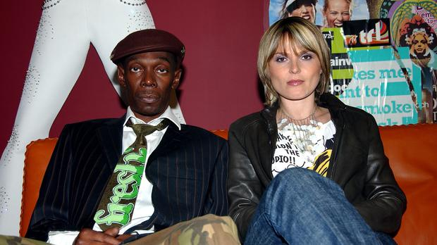 Maxi Jazz and Sister Bliss from Faithless