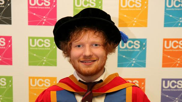 Ed Sheeran grew up in Framlingham