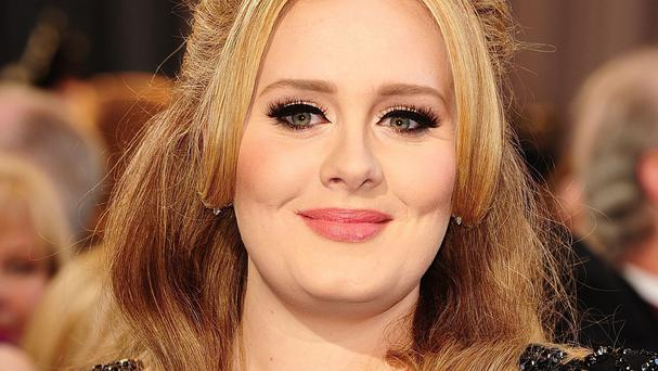 Adele will record the programme on November 2